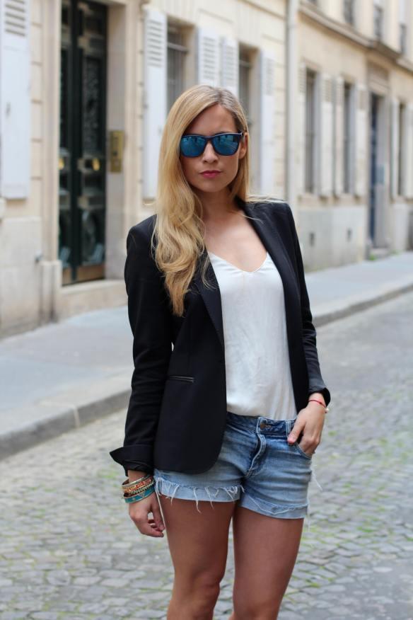 Je vois la vie en Bleu Jennyontheblogmode Afflelou