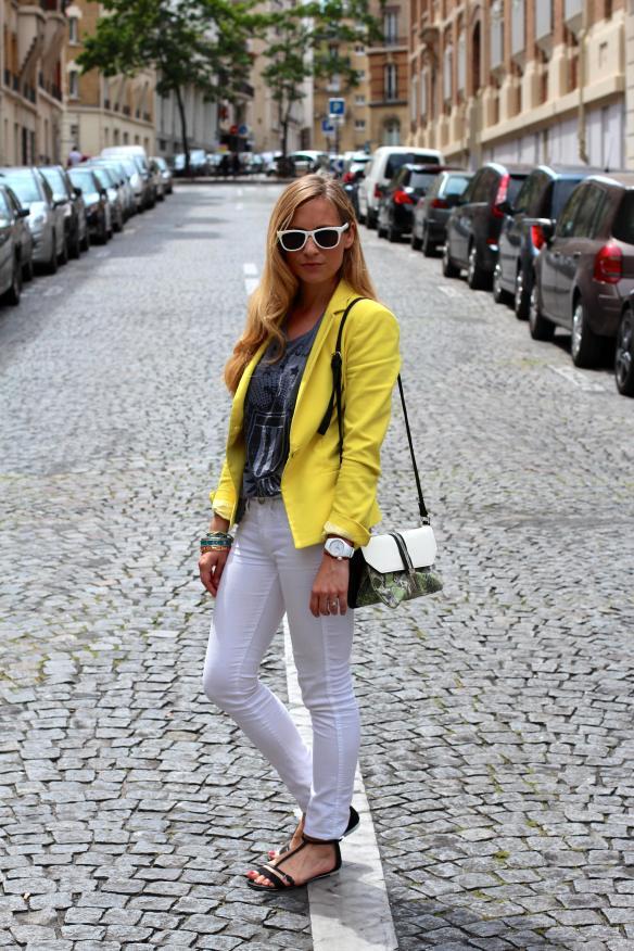 Jeans + Blazer  jennyontheblogmode