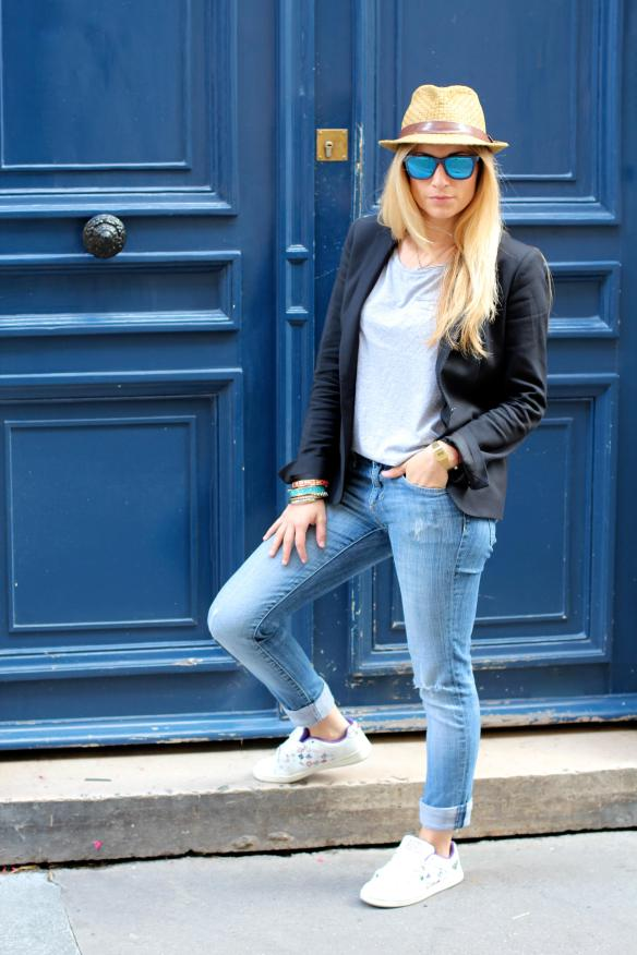 Urban street style with Basket jennyontheblogmode fashionblog blogmode baskets stan smith