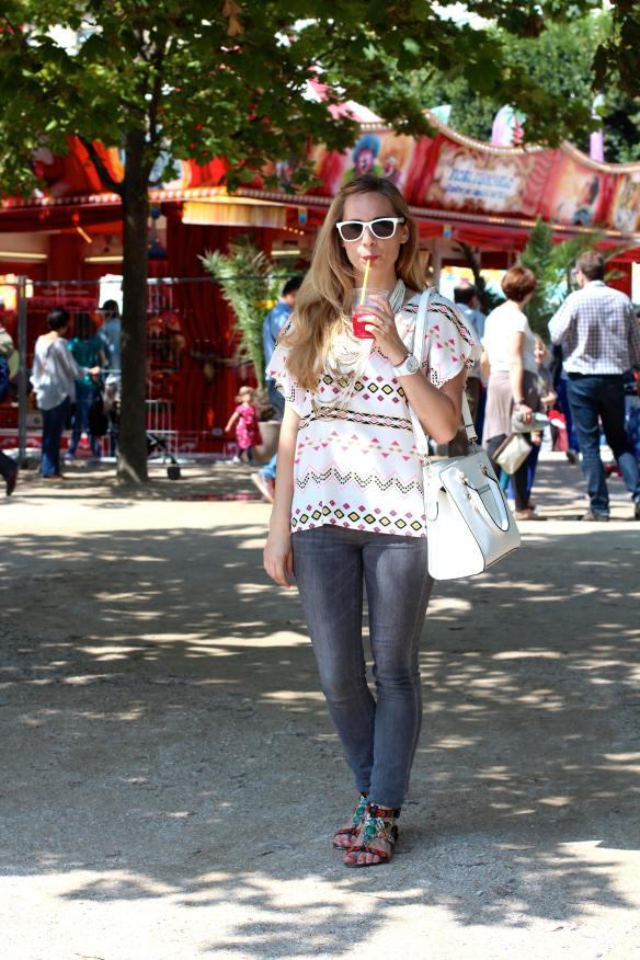 Casual Style à la Fête Foraine des Tuileries jennyontheblogmode.com